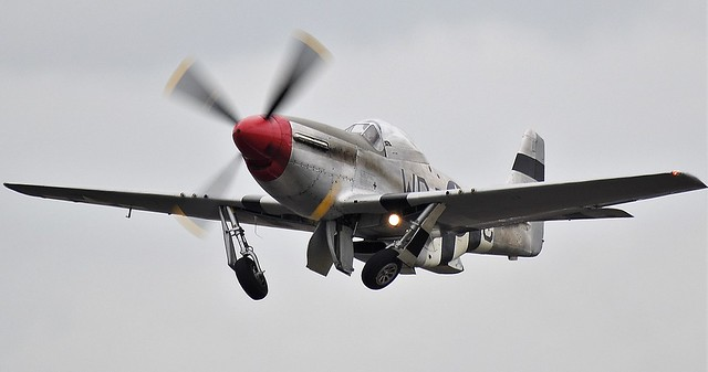 North American P51D Mustang  413779 USAAF 44-73877 Was G-SHWN now G-CMDK