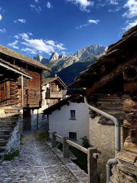 Soglio and the Bregaglia mountains - explored! Thanks!