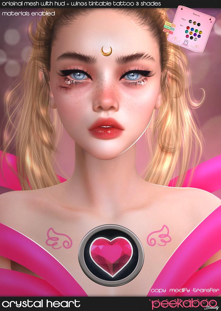 Crystal Heart AD