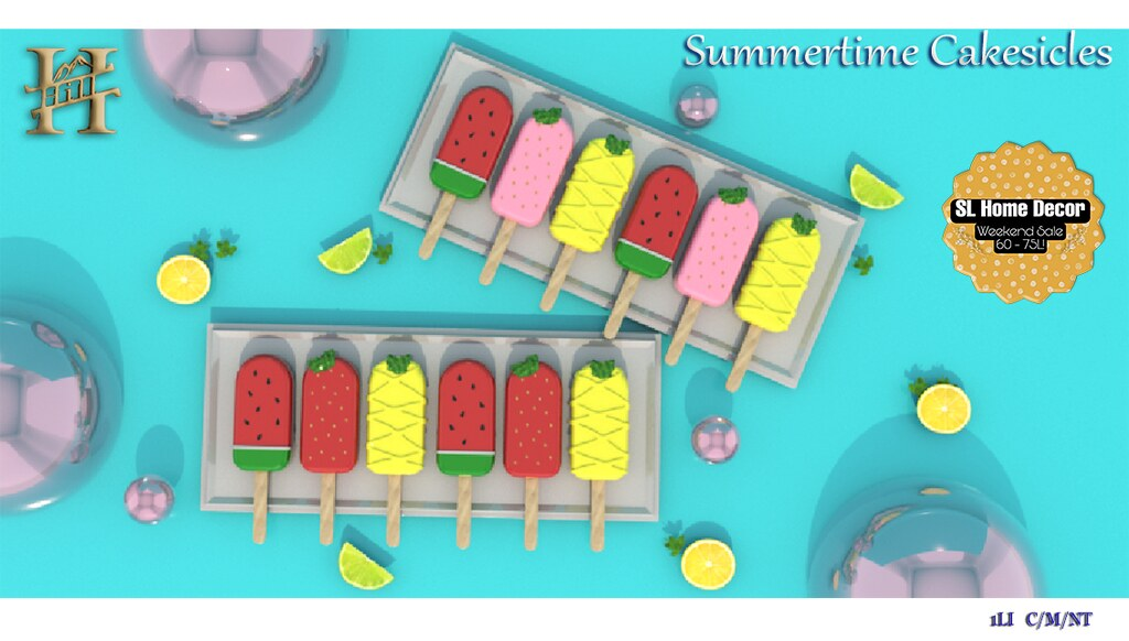 Chef HILL – Summertime Cakesicles