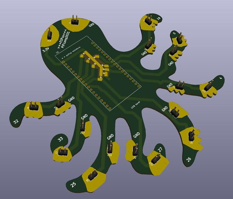 ESP octopus
