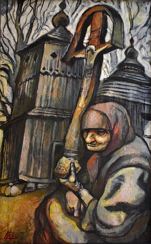 Олександр Студені «Великдень», полотно, олія, 1991 р.