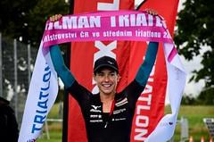 Pilman přinesl další triumf Křivánkové a premiérový titul ve středním triatlonu Burianovi
