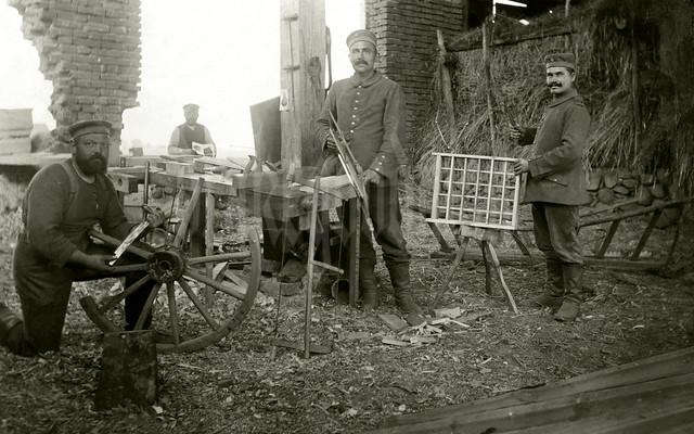 Carpenters from Landwehr Infantry Regiment No. 84
