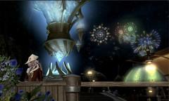 Gridania Moonfest Fireworks