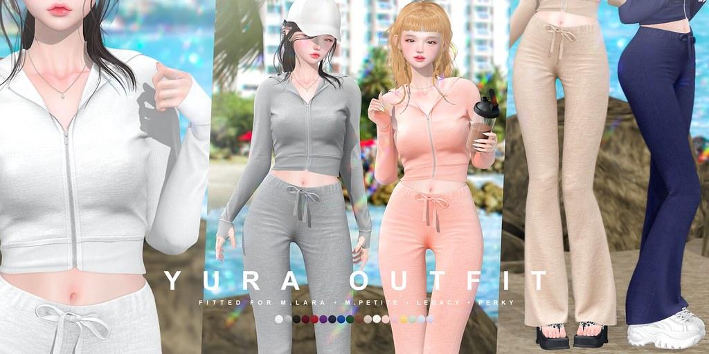 cheezu. yura outfit x blanc