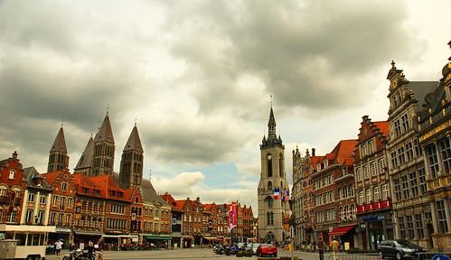 Tournai main square