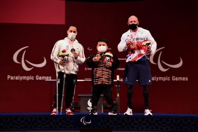 Bonnie Hadiah Emas Pertama Di Paralimpik Tokyo