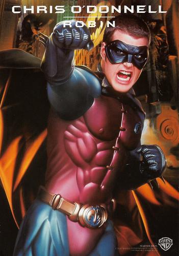 Chris O'Donnell in Batman forever (1995)