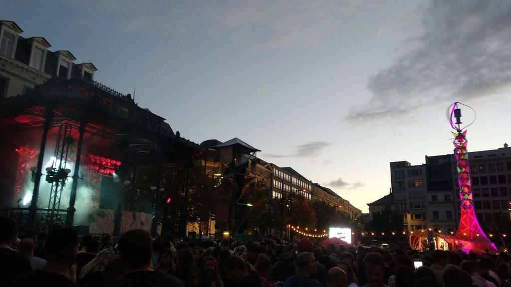 Boomtown fest ambiente