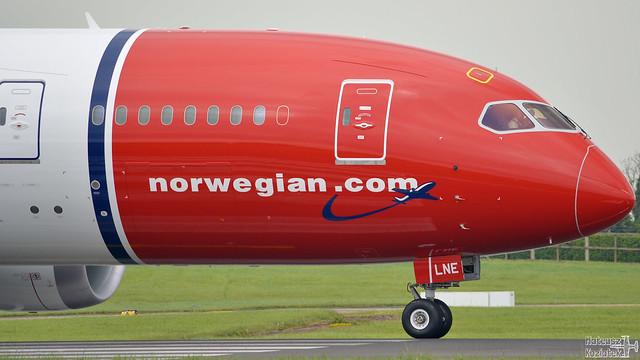 Norwegian 🇳🇴️ Boeing 787-8 Dreamliner EI-LNE