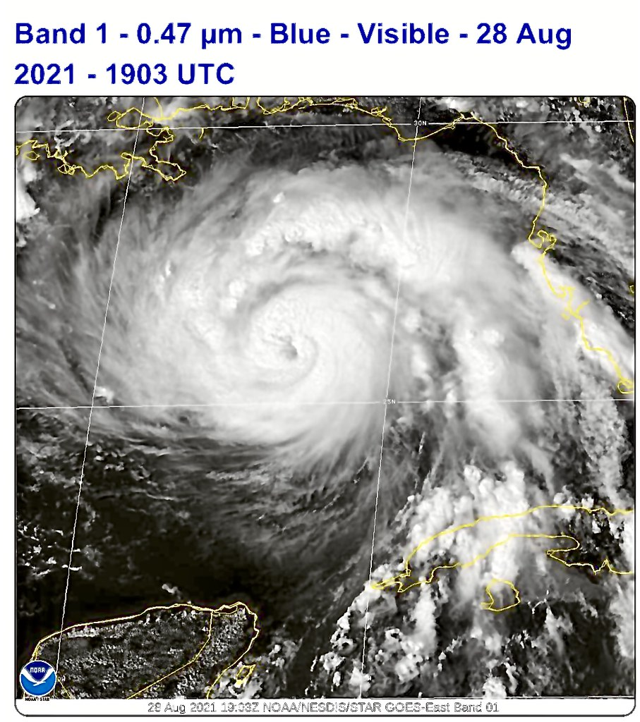 Hurricane Ida Moves towards a Major- https://www.star.nesdis.noaa.gov/GOES/meso_band.php?sat=G16&lat=25N&lon=86W&band=01&length=30