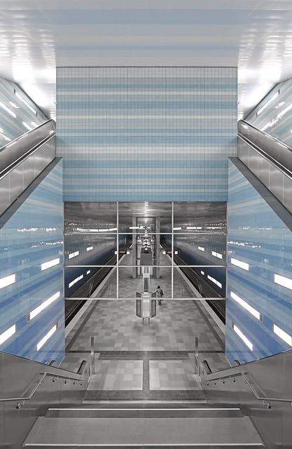 Hamburg - U-Bahnhof Überseequartier