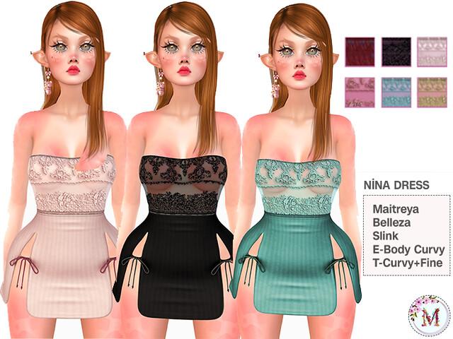 Melis-Nina Dress PACK