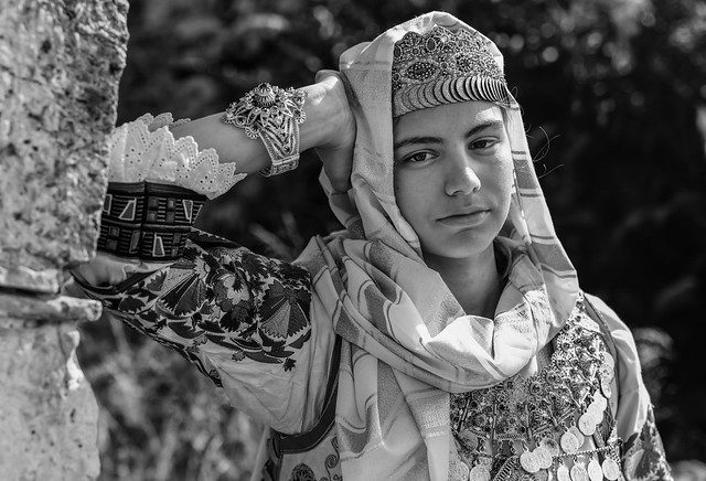 #Grèce #Katohi Paraskevi en costume traditionnel grec du XIXe siècle
