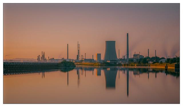 Stanlow Sunrise.