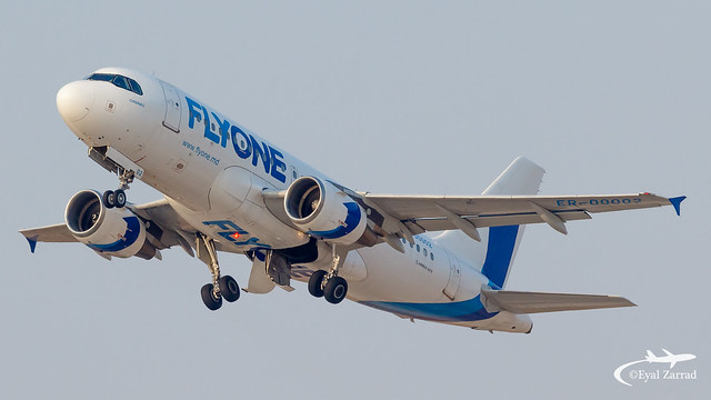 TLV - FlyOne Airbus A319 ER-00002