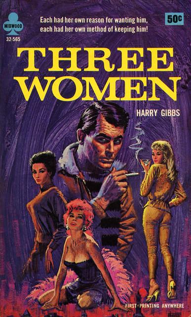 Midwood Books 32-565 - Harry Gibbs - Three Women