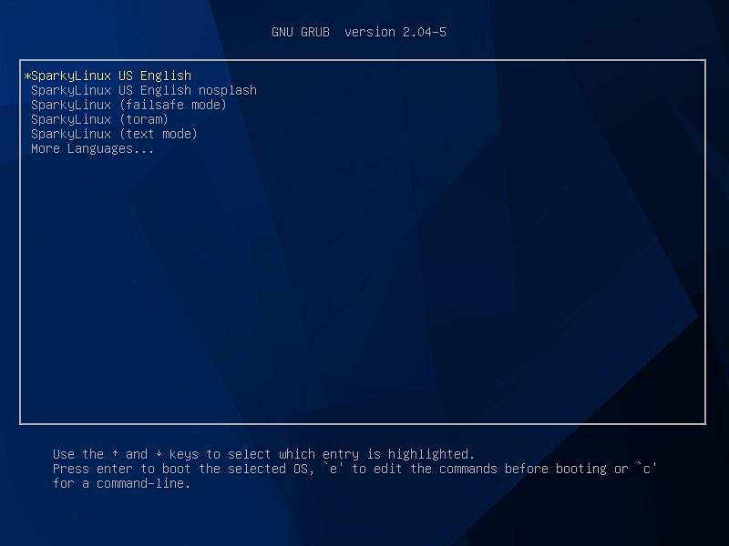 sparkyLinux6.0KDE