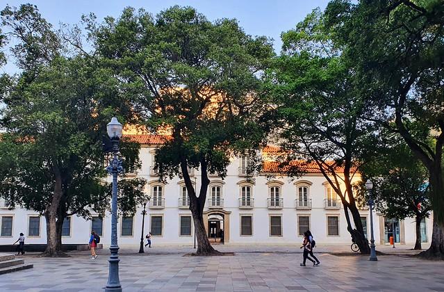 Paço Imperial. Centro do Rio de Janeiro. Brasil