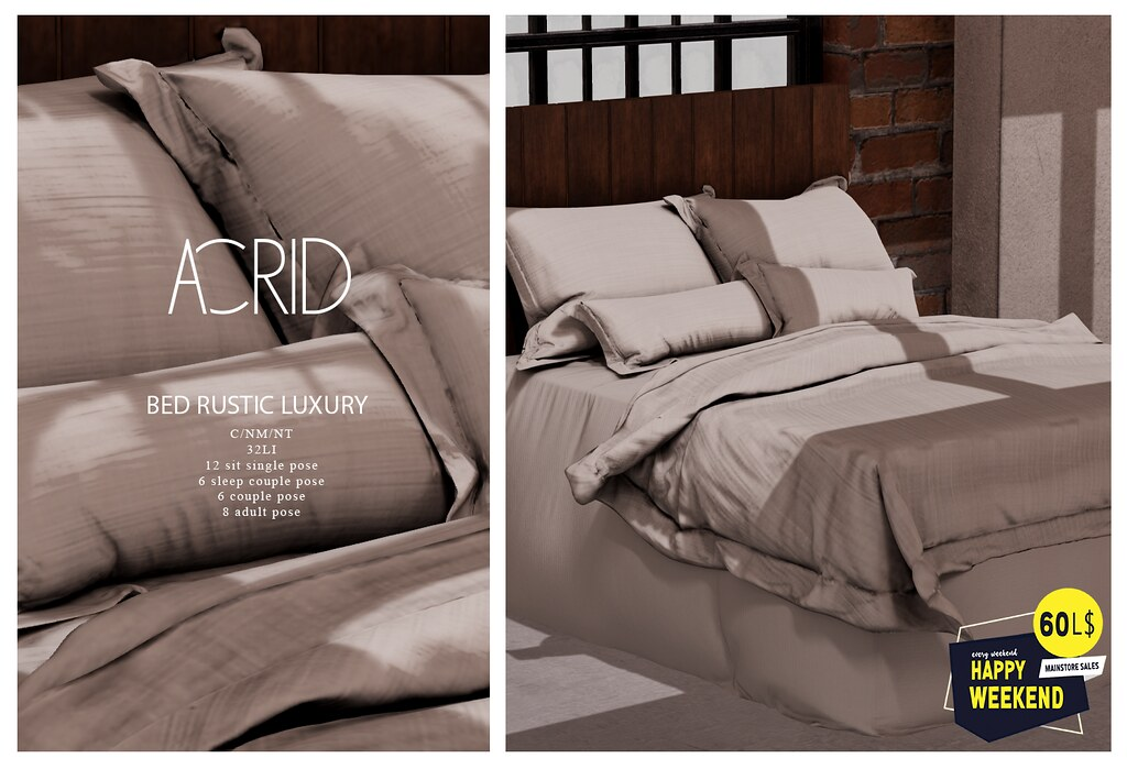 Acrid for Happy Weekend Sale (28-30 August)