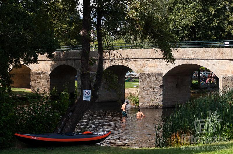 Piscina natural Puente Nueva en Burgohondo