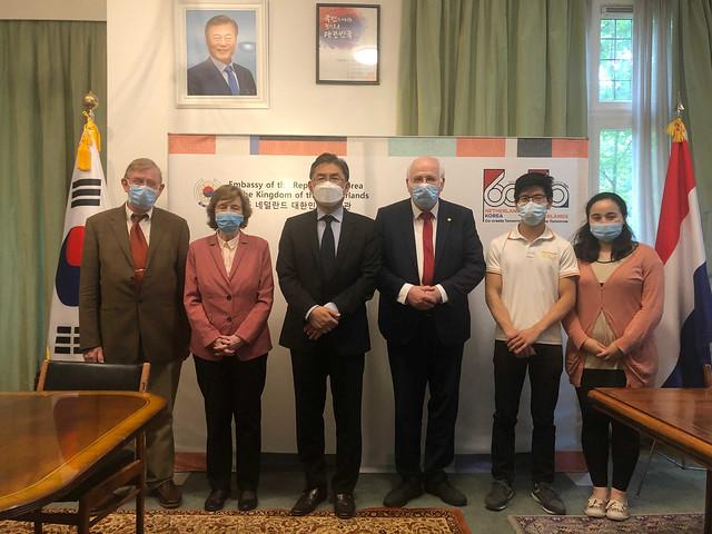 Netherlands-2021-08-06-UPF Delegation Meets South Korean Ambassador