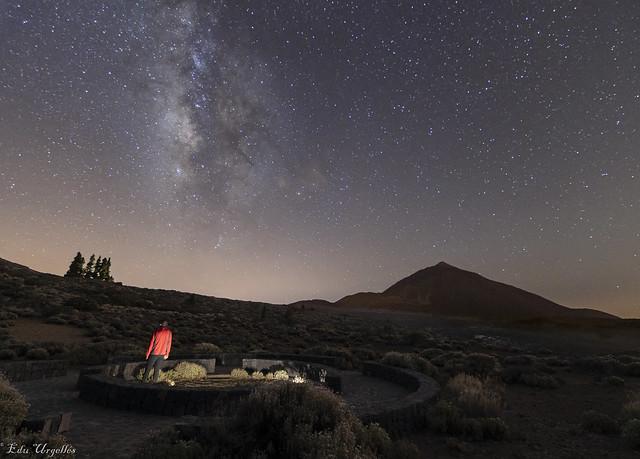 Via Láctea Tagoror Teide
