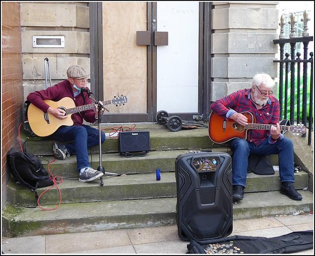 Street Musicians ..