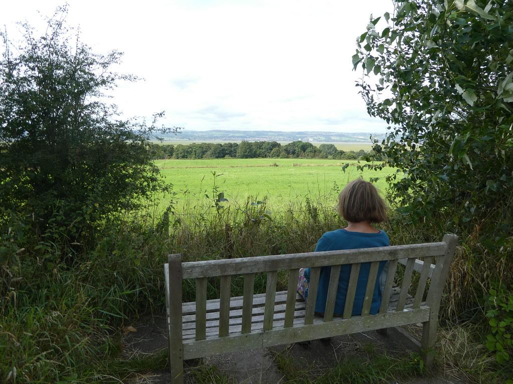 Views across the Dee Estuary, Ness Gardens