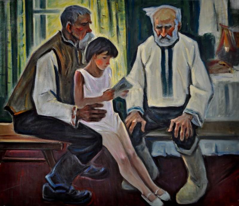 Петро Козін «Думи», полотно, олія, 2000 р.