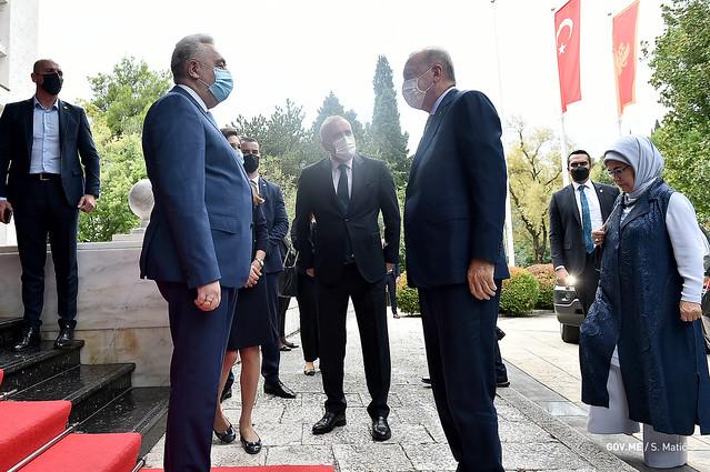 Zdravko Krivokapić - Redžep Tajip Erdogan, predsjednik Republike Turske (28.08.2021.)