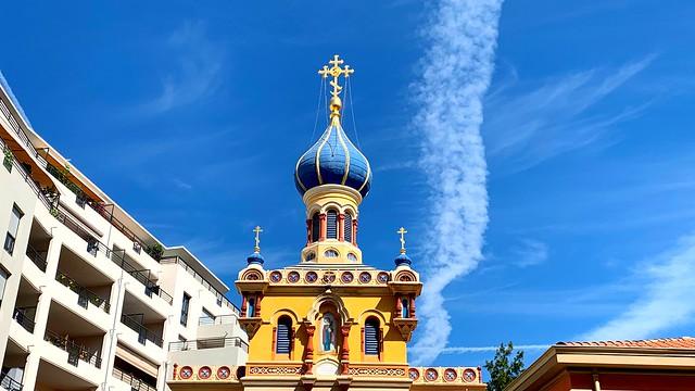 Église Russe à Menton.