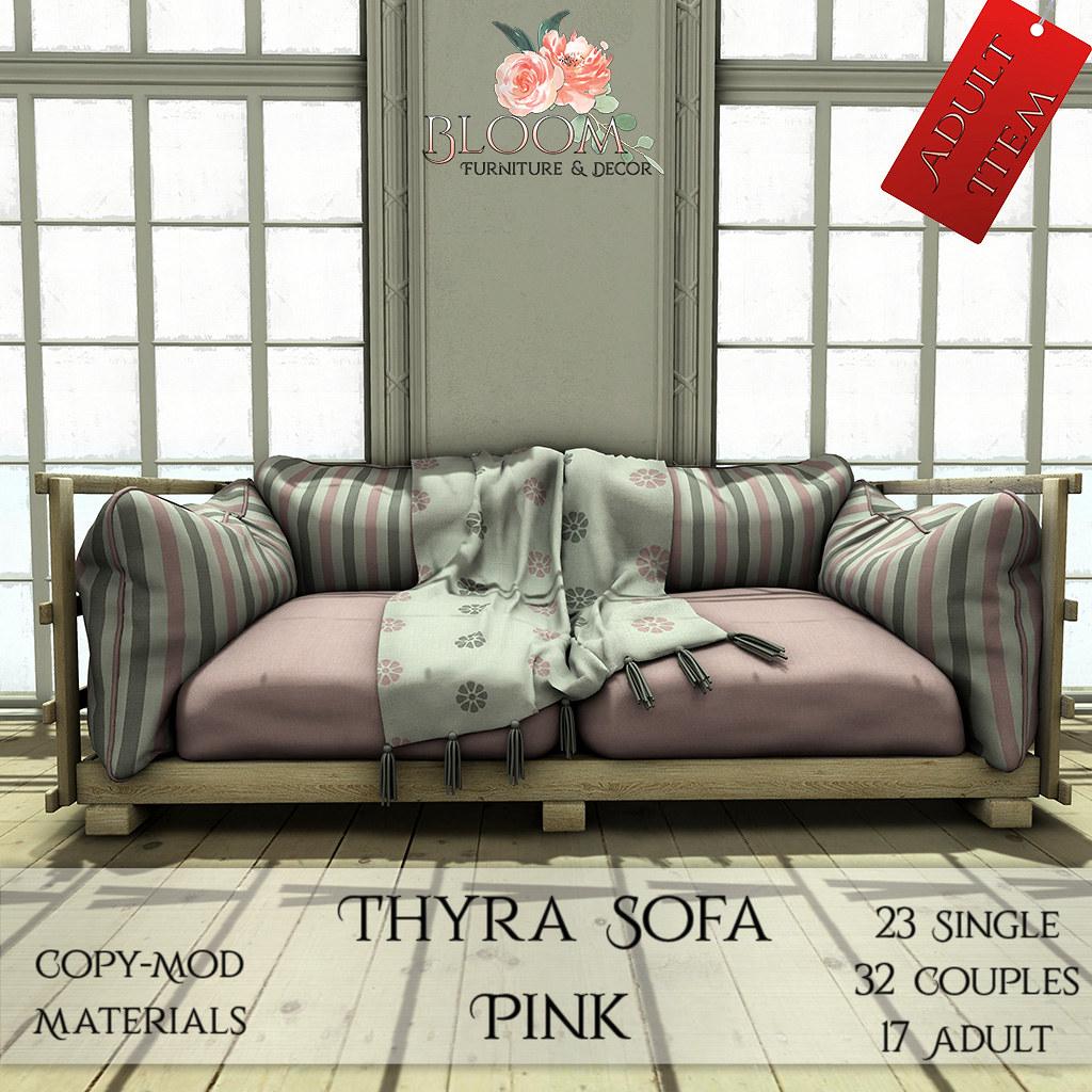 Bloom! – Thyra Sofa Pink (A)AD