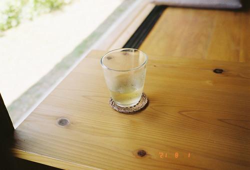 汗かきグラス