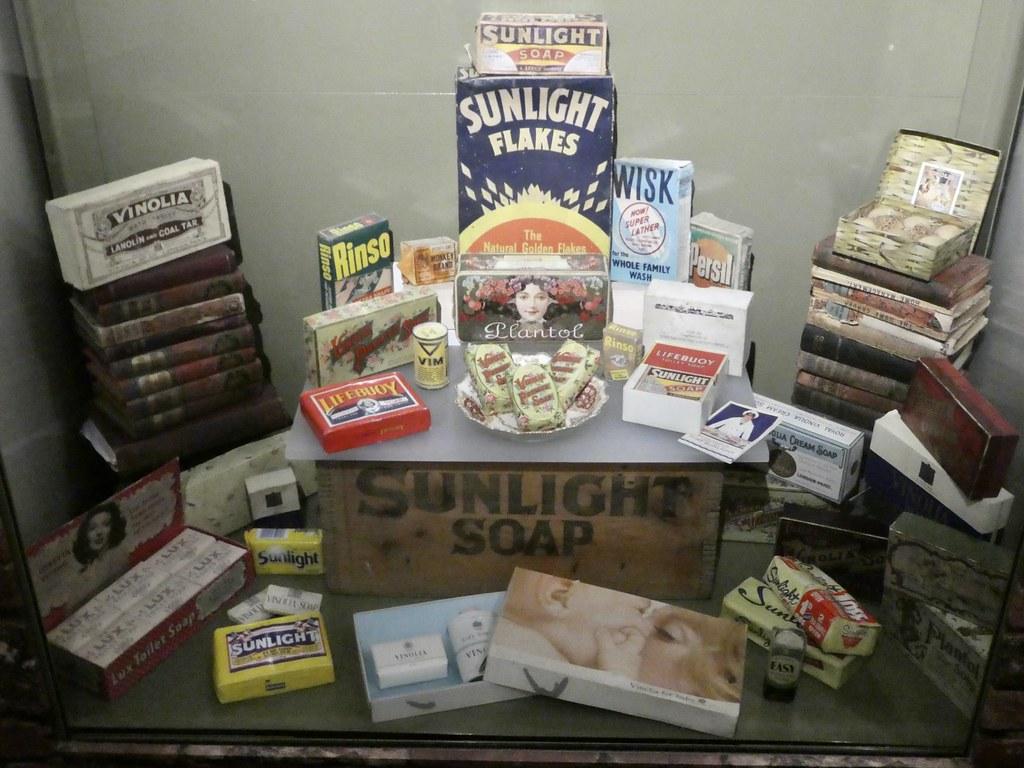 Port Sunlight Museum exhibits