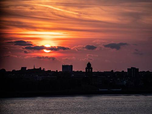 Wirral sunset
