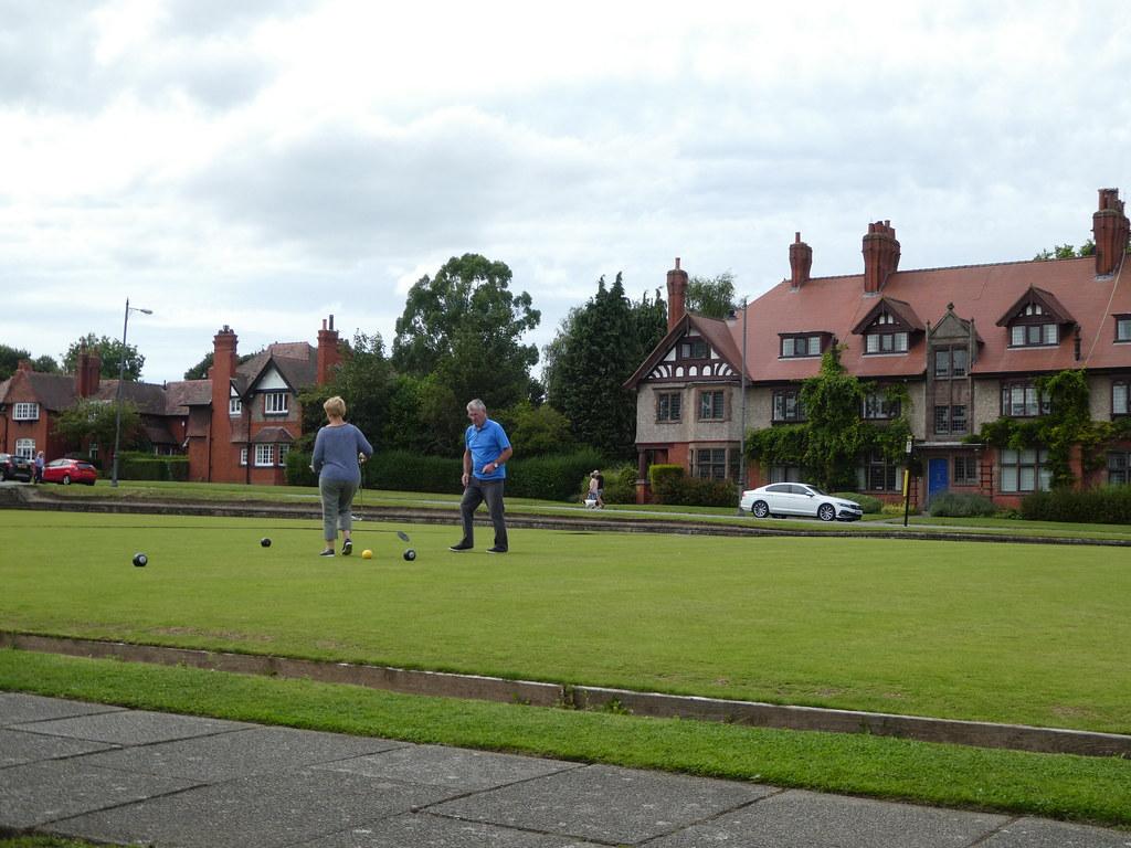 Village bowling green, Port Sunlight