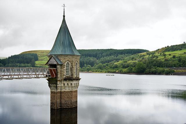 Valve Tower, Pontsticill Reservoir