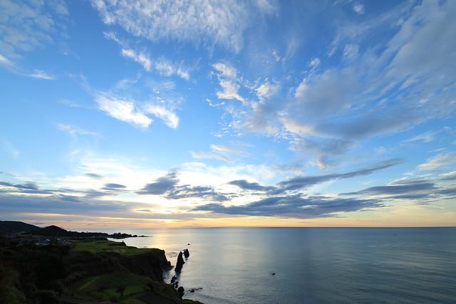 Evening at the Tango coast