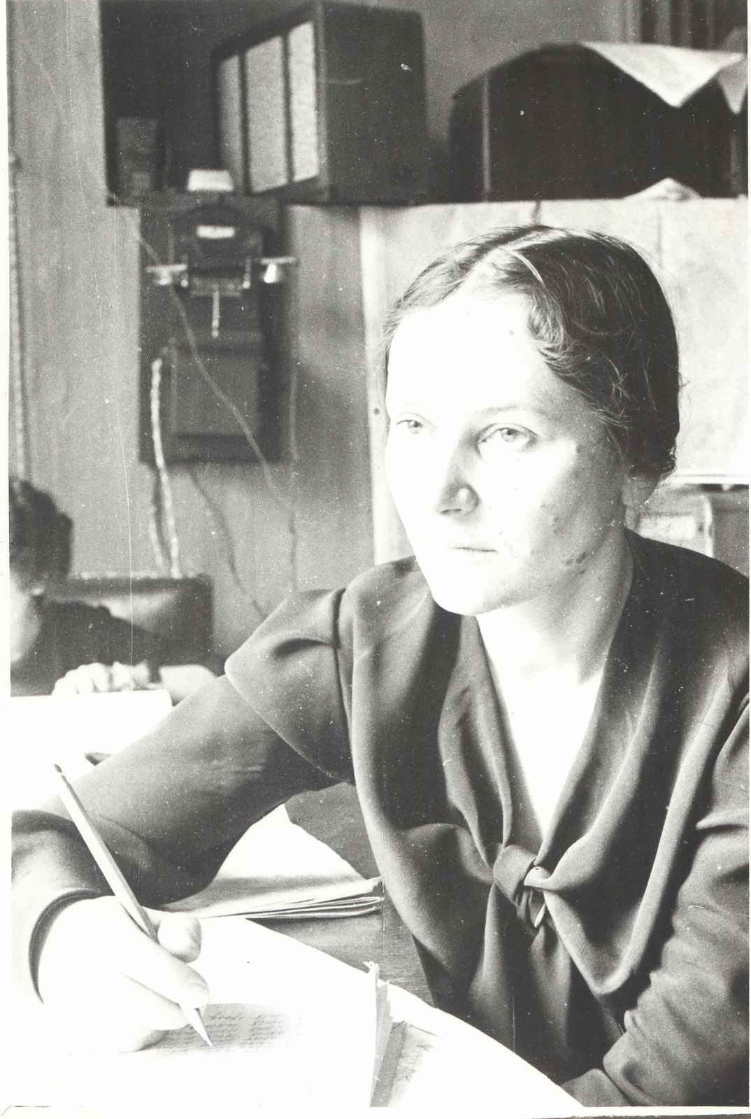 1934. Экспедиция по спасению челюскинцев. Синпотик Самойлова