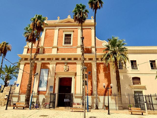 St. Peter's church, Jaffa, Israel - midday sun