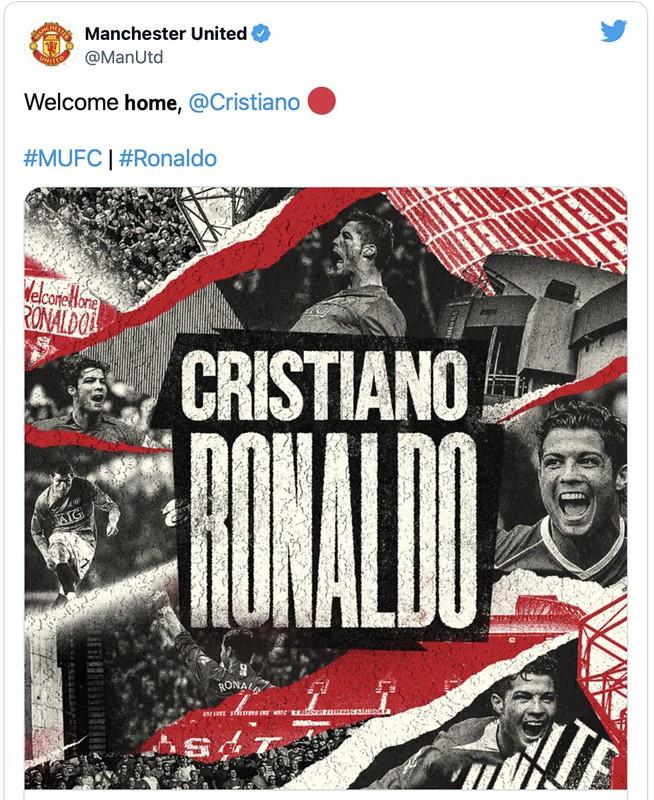 Tak Sampai Sejam Sahkan Kepulangan Ronaldo Ke Old Trafford, Ini Yang Berlaku
