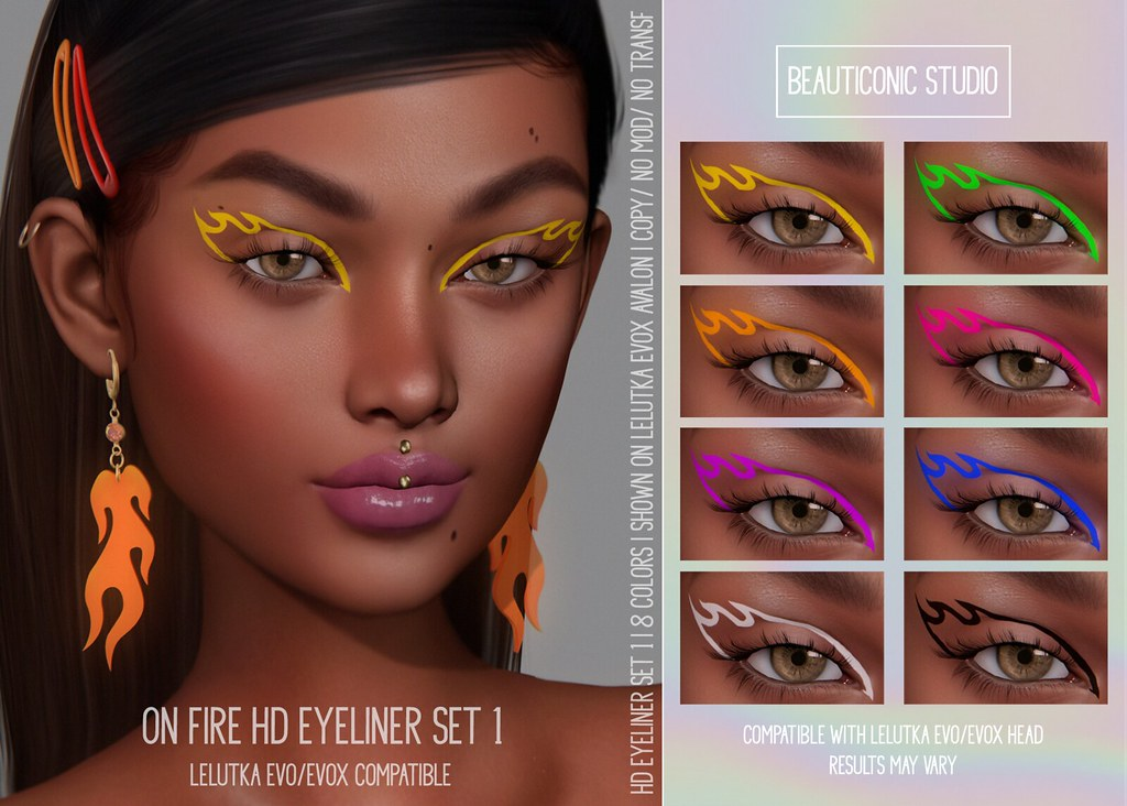 [BS] ON FIRE HD EYELINER @2MUCH EVENT