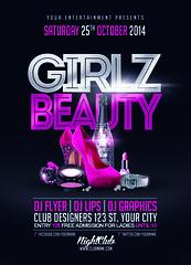 Girlz Beauty Flyer