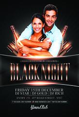BlackNight Flyer Template