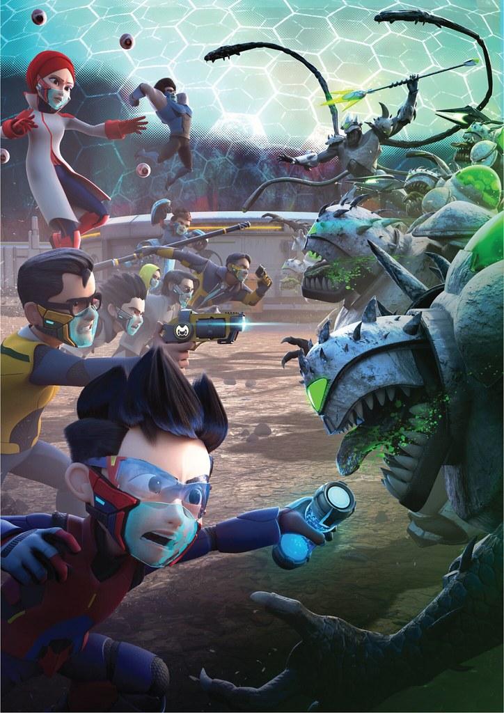 Tahniah! Ejen Ali Misi: Juang Menang Anugerah Animasi 3D Terbaik