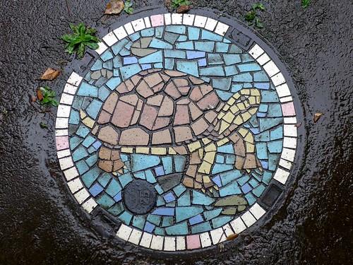 Kawasaki Kanagawa, manhole cover 10 (神奈川県川崎市のマンホール10)