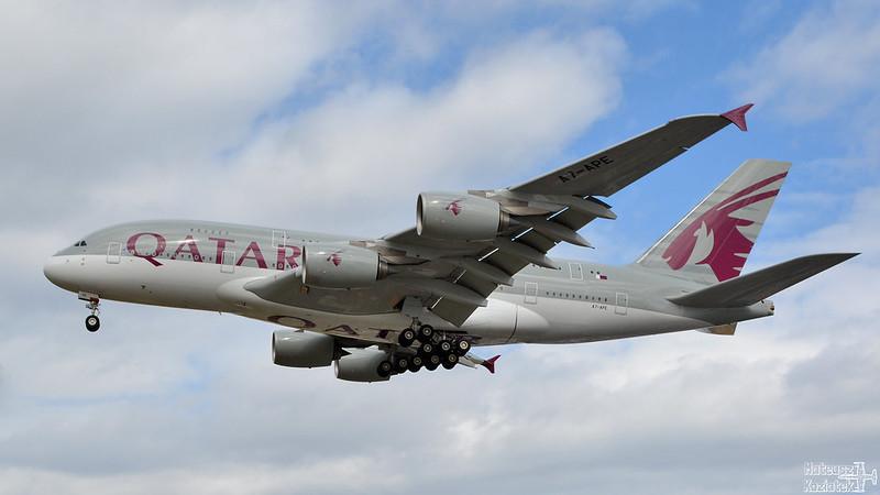 Qatar Airways 🇶🇦 Airbus A380-800 A7-APE