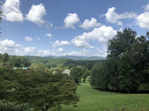 northcarolina maconcounty aug2021 mountains scenery tree cloud sky